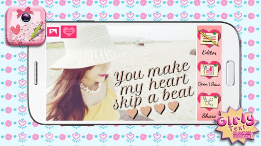 Hello, girls! Are you ready for the best photo editing app ever? If you like photo collage makers. photo grids, and photo frames, this is a perfect pic decorating app for you! Download ♥ Girly Text on Pictures Deluxe ♥ and enjoy in a phenomenal activity of adding text on pics. <p>We offer you: <br>♥ <b>Colorful design in girly colors!<b><br>♥ <b>Simple and intuitive tap controls suitable for all generations of users!<b><br>♥ <b>Numerous ways to add text to photos!<b><br>♥ <b>Sharing options…