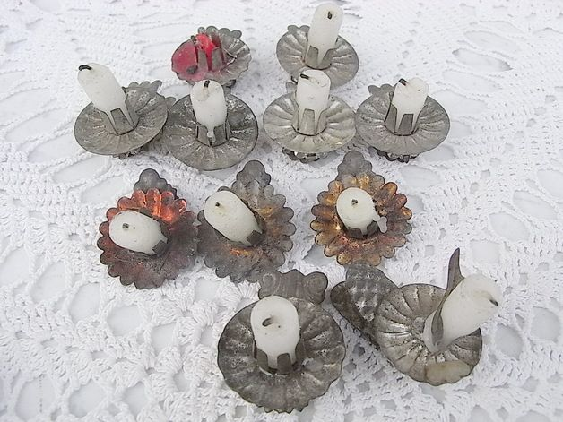 Ideen Vintage Weihnachtsdeko schneeflöckchen vogel