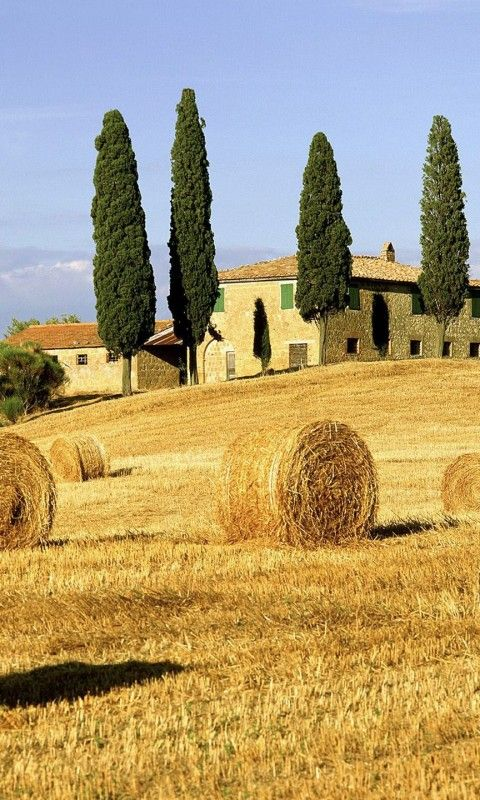 San Quirico d' Orcia , Italy, province of Siena Tuscany