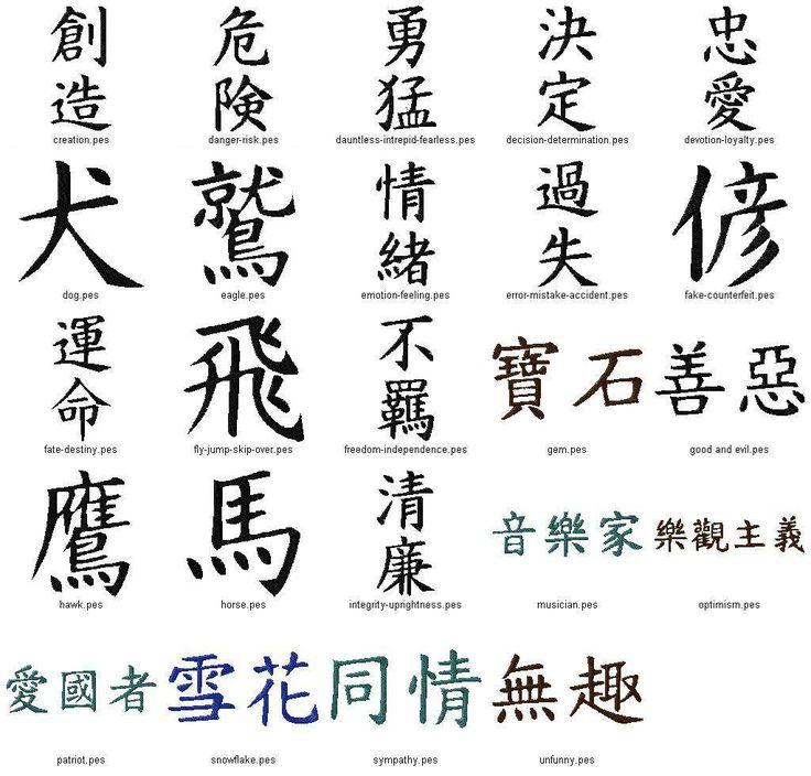 Kanji Tattoo: Tattoos Free Tattoo Ideas - Free