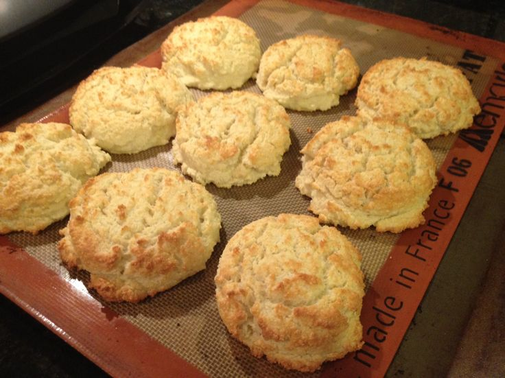 Almond coconut flour biscuits