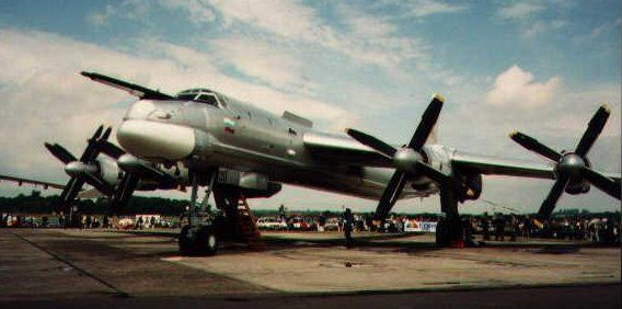 Picture of Tupolev Tu-142 'Bear'