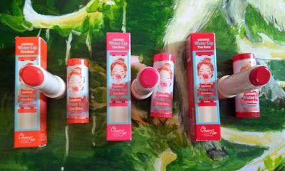 Malaysian Beauty Haul: [Review] Choonee Water Lip Tint Balm Cherry, Peach...