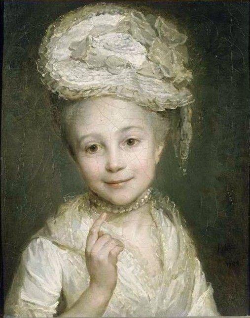Nicolas Bernard Lépicié (1735-1784) - , daughter of the painter Emilie Vernet.