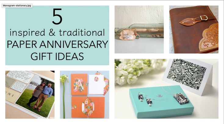 25+ Unique Traditional Anniversary Gifts Ideas On
