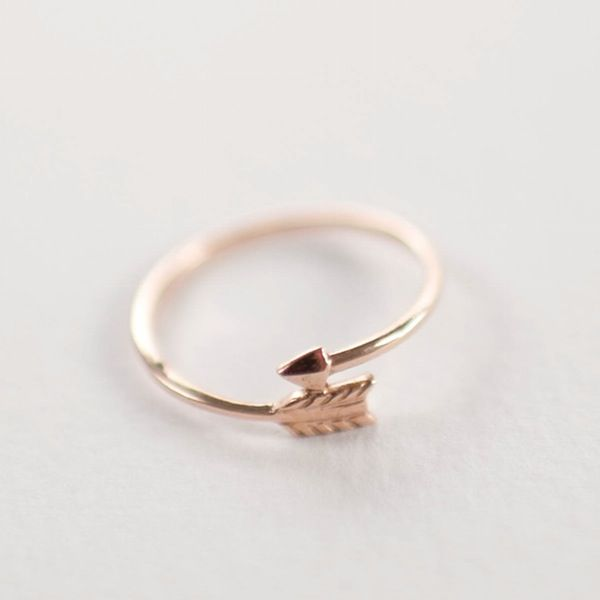 Image of Feather Arrow Ring