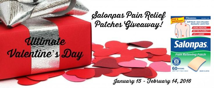 Come check out the Salonpas Pain Relief Patch #giveaway on my blog!  Enter Daily!  @las930 @salonpas #painfree  Fabulous and Brunette: Salonpas Pain Relief Patch Giveaway - Enter Daily!...