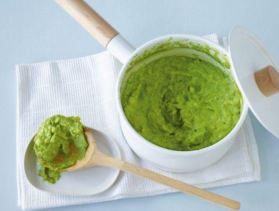 Bärlauch-Kartoffelpüree ist eine klasse Beilage: Die würzigen Blätter geben dem Püree einen richtigen Kick!