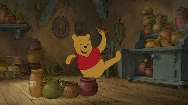 Hunny, it's time for a makeover. And who better to turn to for that than Winnie the Pooh? He's been rocking his timeless look for decades.