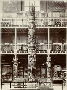 Star House Pole: Early Images of the Haida Totem Pole in the Pitt Rivers Museum.  9 June - 28 September 2014