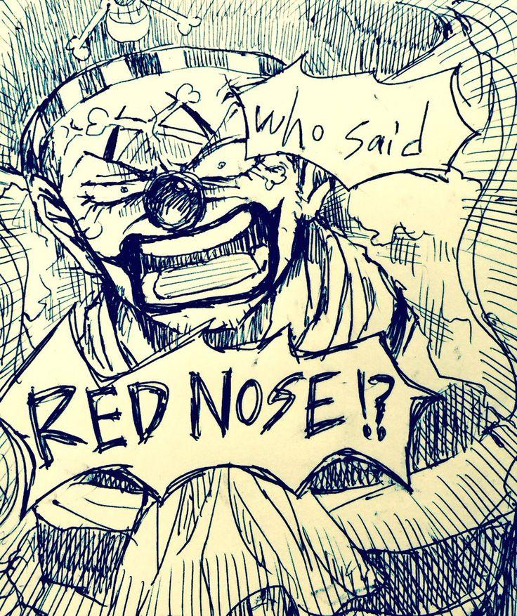 Hahaha,  Buggy 7u7 One Piece, Buggy the Clown