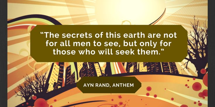 Book Quote - ANTHEM by Ayn Rand. Read our book review and more quotes from this iconic novella.