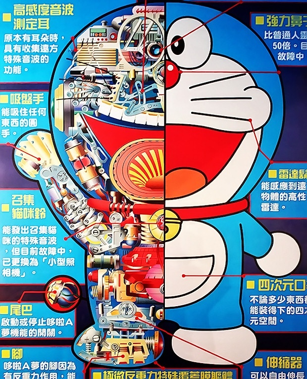 THE WORLD'S ONLY DORAEMON PARK IN TAIWAN