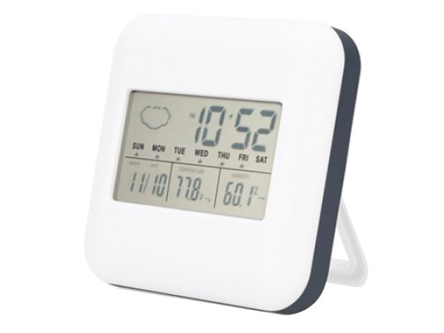 D Weatherman at Desk clocks | Ignition Marketing Corporate Gifts