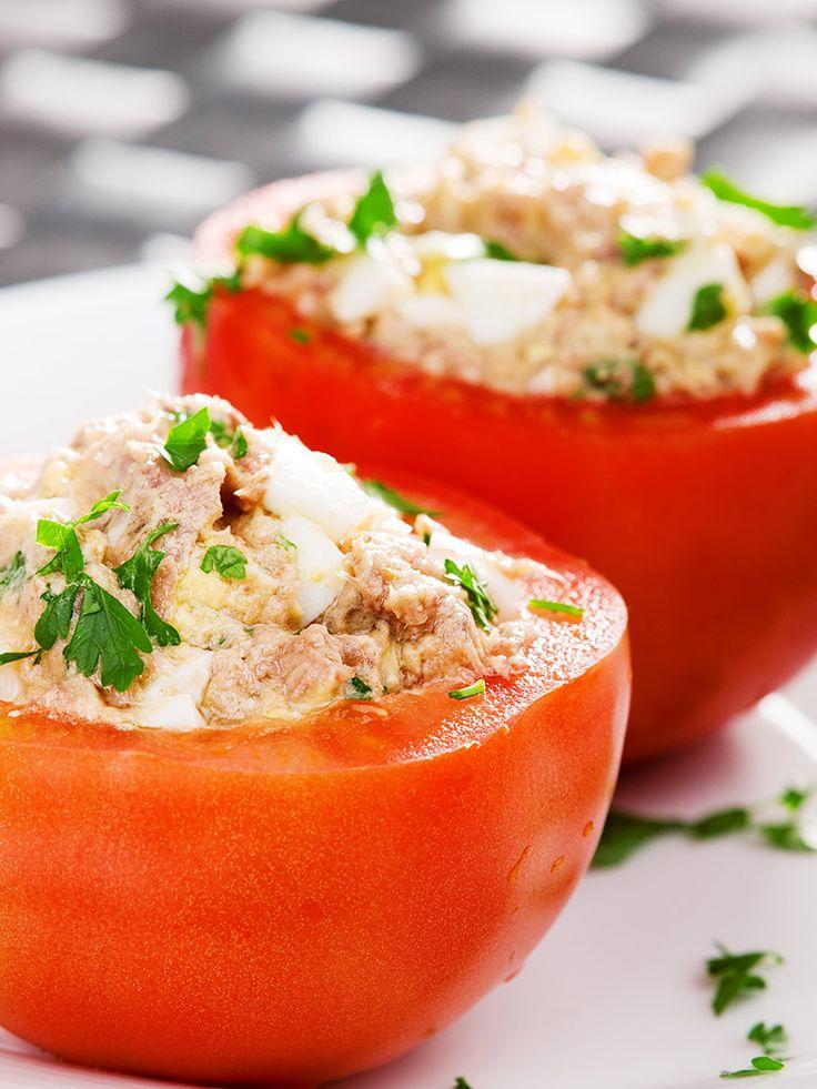 Tuna-stuffed Tomatoes (Pomodori Ripiene di Tonno) – Traditional Italian Recipe