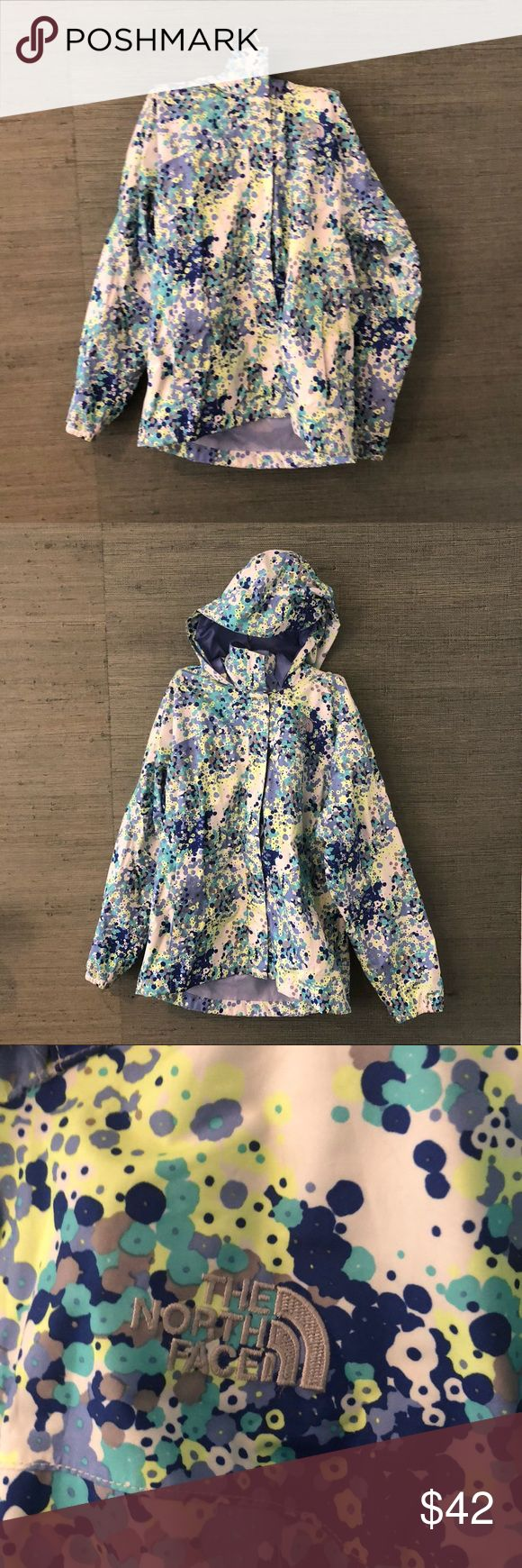 North Face Girls Floral Raincoat North Face Floral rain jacket, size LG (14/16) Girls, size XS women's. Never worn, great condition, cool floral print. North Face Jackets & Coats Raincoats #RaincoatsForWomenTheNorthFace