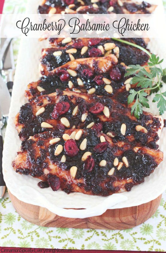 This dried cranberry and balsamic glaze is perfect for perking up boneless chicken breasts! It easily takes them from ordinary to extraordinary. The tangy sauce is made of dried cranberries, balsamic vinegar, a touch of honey, Worcestershire sauce, garlic and olive oil. It's pulsed together in a food processor then briefly simmered in a small …