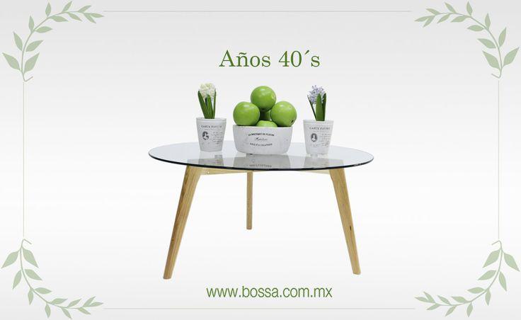 Las mesas ya existían, pero hasta los años 40´s en Francia se fabricaron y tomaron importancia las Mesas de Centro Redondas, como Haruka.  Revive esta época con nuestra colección en: www.bossa.com.mx