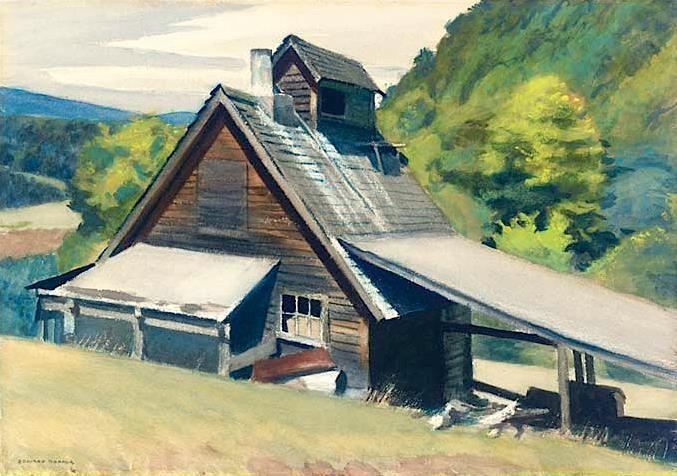 Edward Hopper - Vermont Sugar House