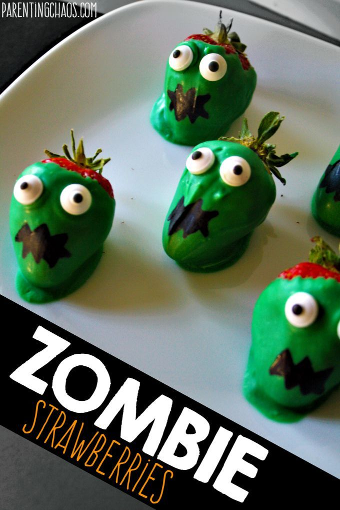 Zombie Strawberries! I could DEVOUR these!