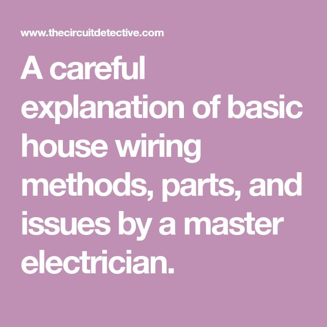 76 best house wiring images on Pinterest | Electric, Electrical ...