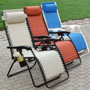 Coral Coast Zero Gravity Lounge Chair - Pool Chaise Lounges at Pool Furniture