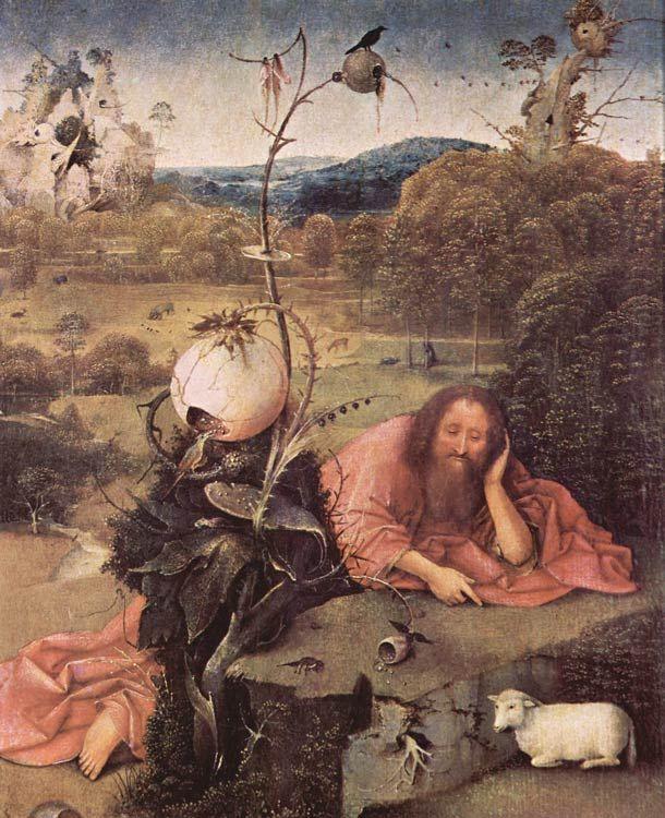 Иоанн Креститель в пустыне |