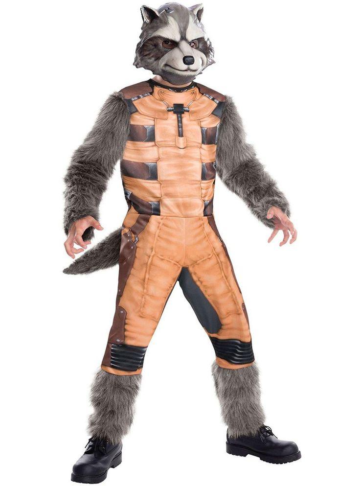 Disfraz de Rocket Raccoon para hombre