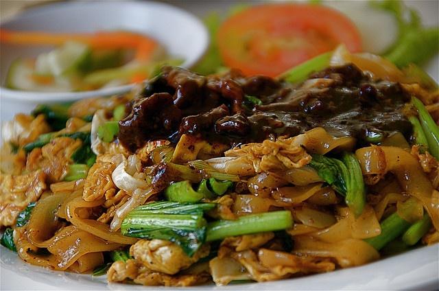 Kwetiau Goreng, Indonesin fried kwetiau noodles