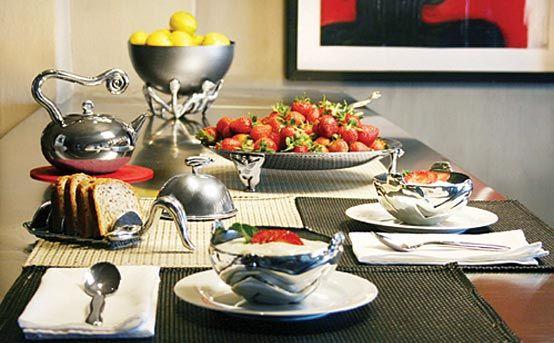 Carrol Boyes table display