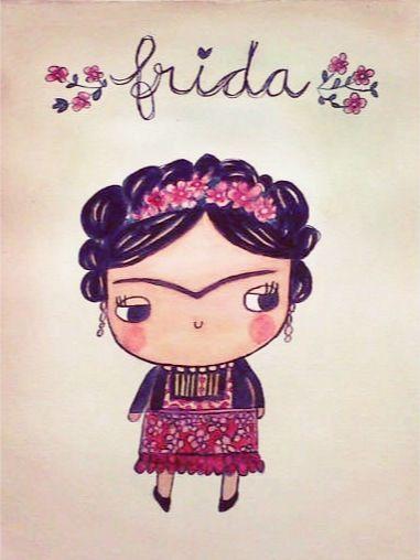 frida kahlo dibujo para niños - Buscar con Google
