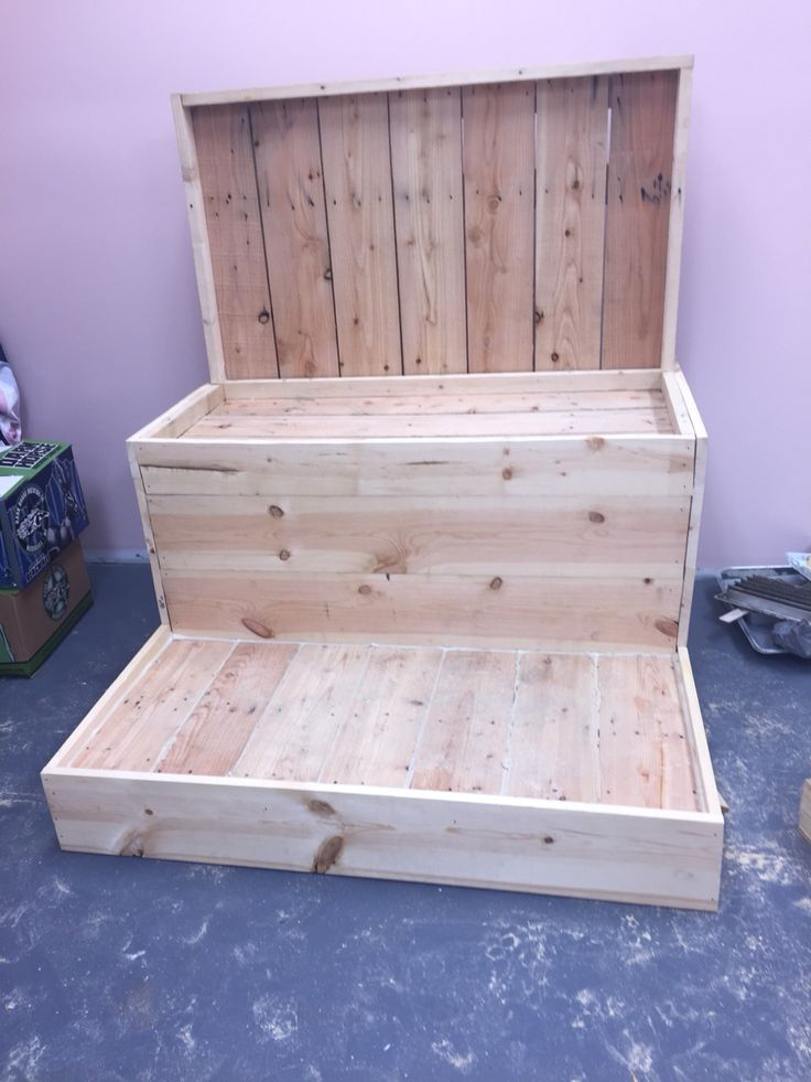 New pedicure throne being built for me.                                                                                                                                                      More