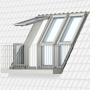 VELUX CABRIO® balkon en dakterrasvenster - een nieuwe dimensie voor uw huis