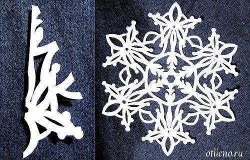МЕГА подборка: шаблоны новогодних снежинок | otlicno.ru