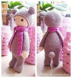 Amigurumi Bear Emmie (Lalylala)-Free Pattern