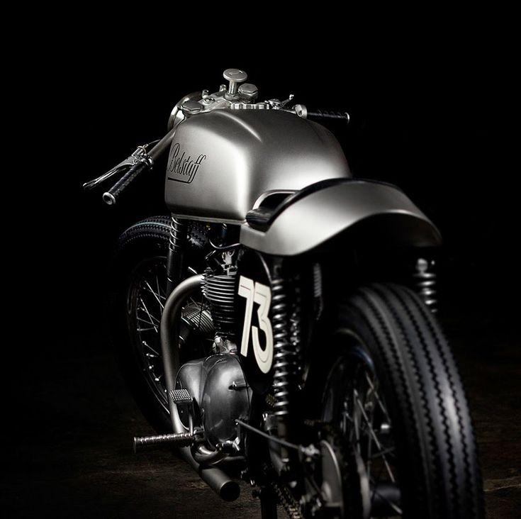 Belstaff custom Triumph