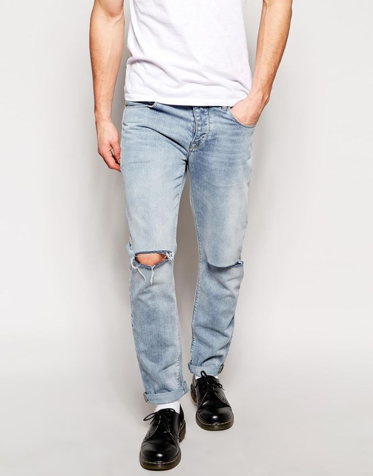1000  images about Awesome Ripped Jeans For Men on Pinterest