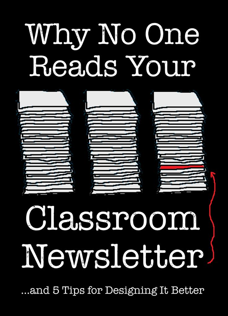 Corkboard Connections: Why No One Reads Your Classroom Newsletter - Great guest post by Jennifer Gonzales with 5 common flaws when writing a newsletter and tips for making it more effective.