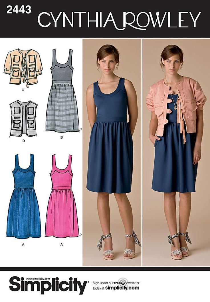 simplicity patterns dress cynthia rowley - Buscar con Google: