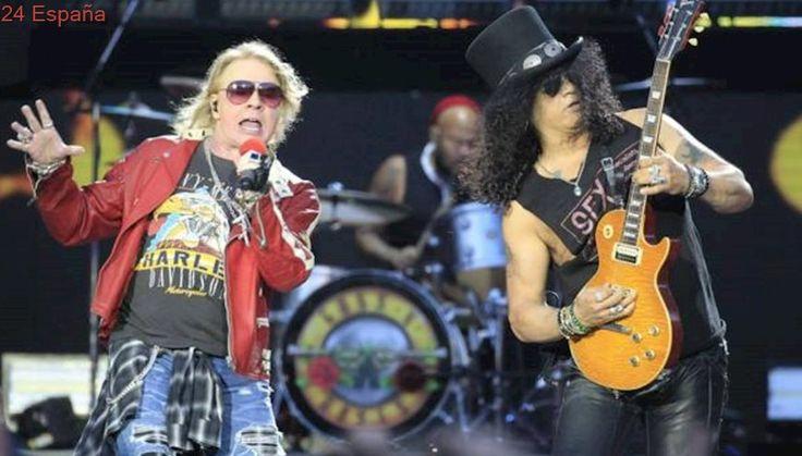 Guns N'Roses actuarán en el Download Festival Madrid