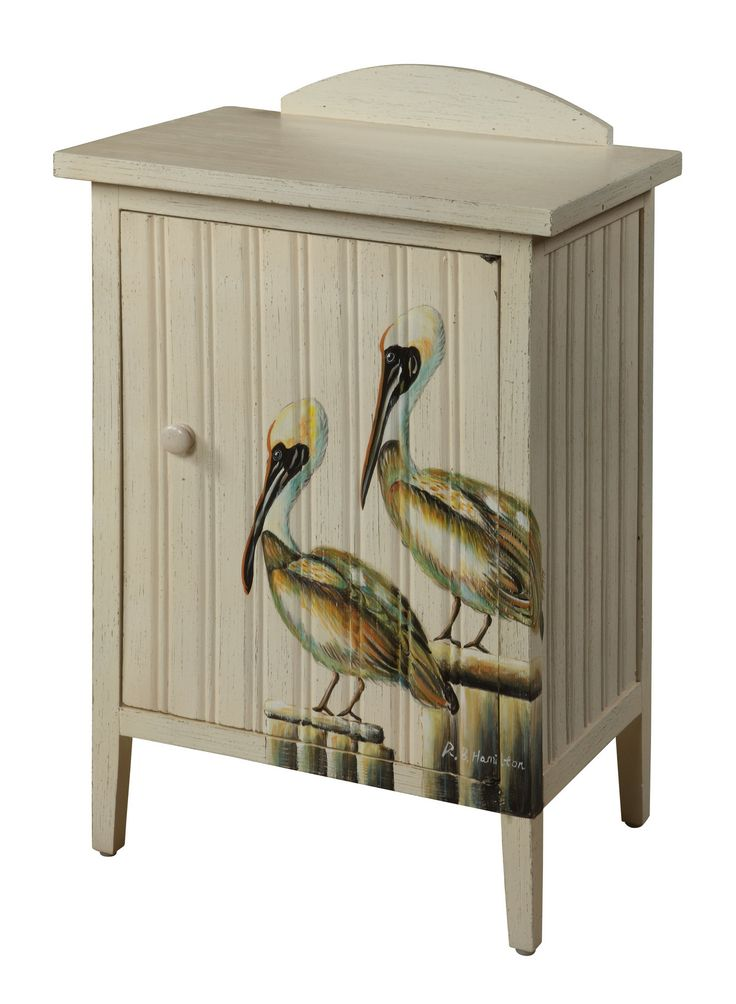 Gailu0027s Accents Shoreline Pelican Cupboard   Wayfair