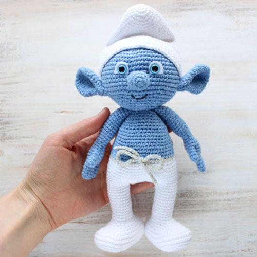 Crochet Smurf Amigurumi - Free Pattern (Beautiful Skills ...