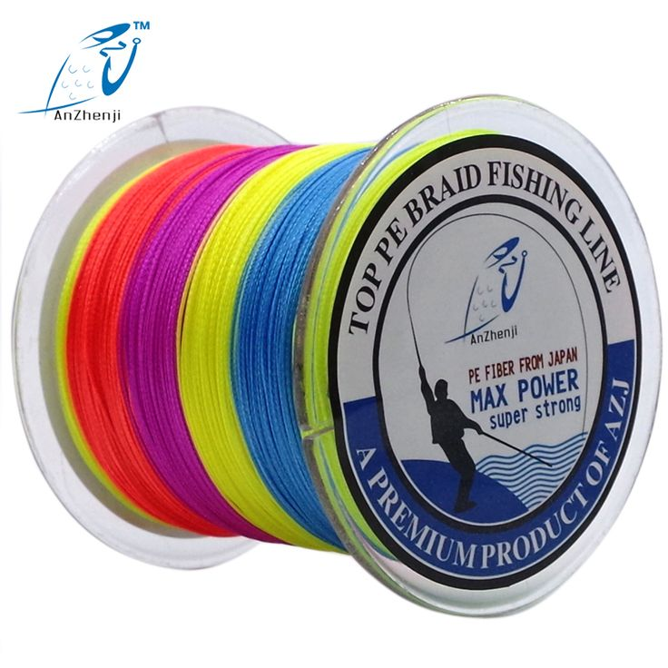 AZJ Online store  Japan Material 500M 4 Strands PE Multifilament Braided Fishing Line For Carp Fly Ice Fishing 10-100LB