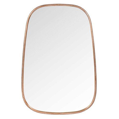 Spiegel aus Metall, H 60 cm, BERKLEY