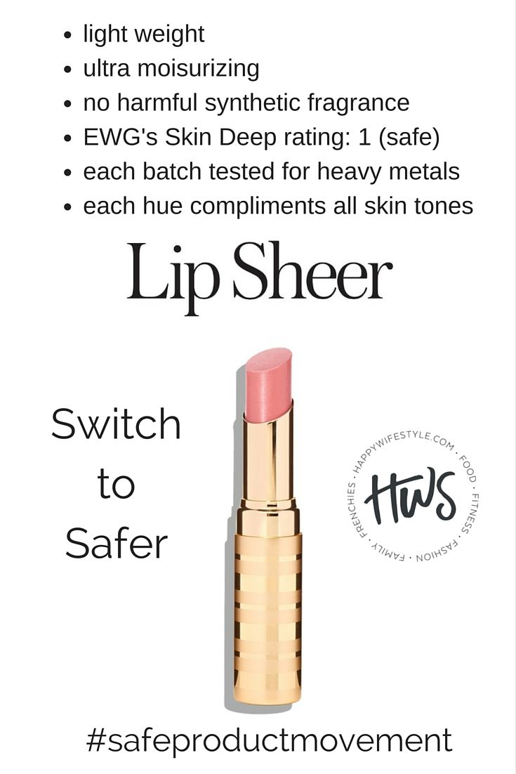 """My most recent """"switch""""!  LOVE that I can feel good about using this safer make up;)  Click the pic to shop this lip sheer by Beautycounter! #safeproductmovement"""