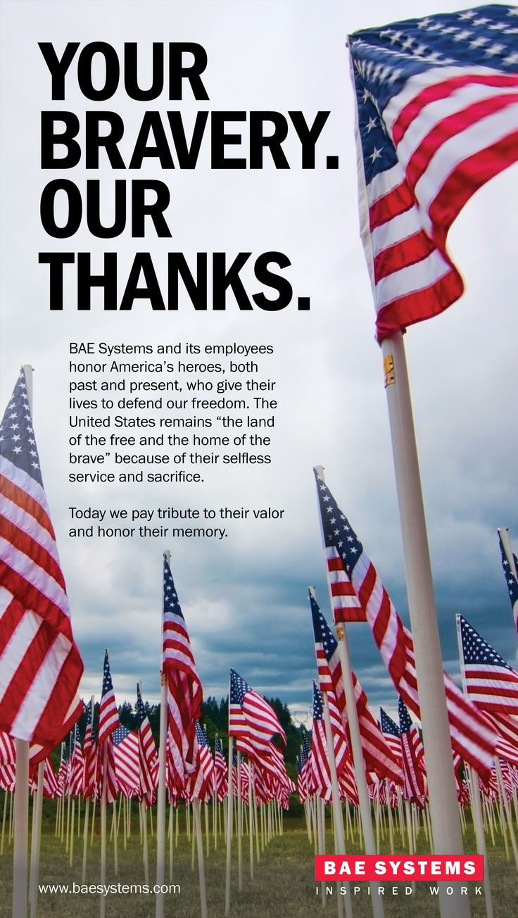 National Military Appreciation Month ad (With images