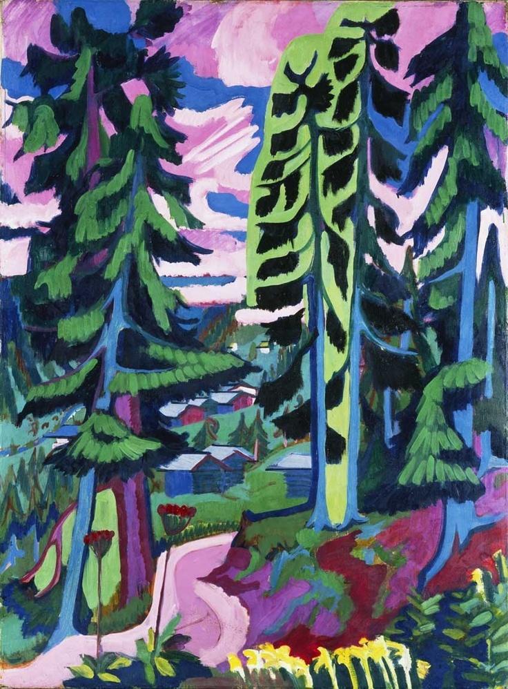 Ernst Kirchner. Wildbolen 1927-28.