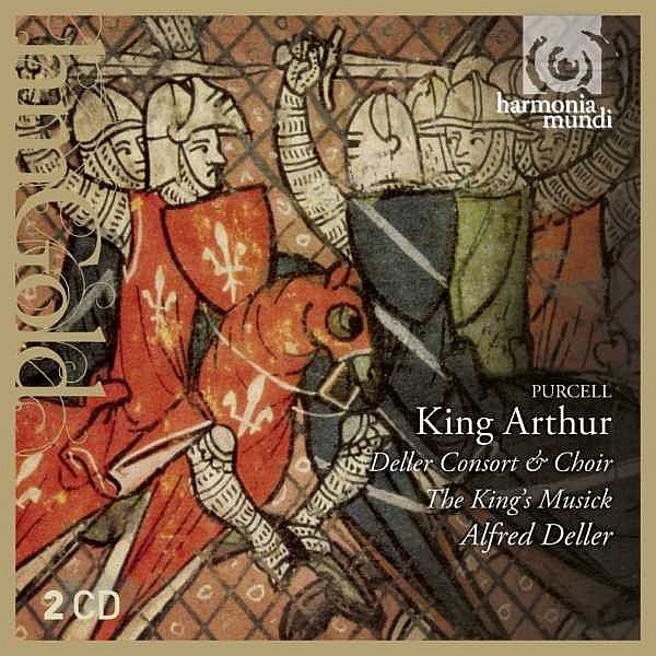 Purcell : King Arthur-Alfred Deller-harmonia mundi