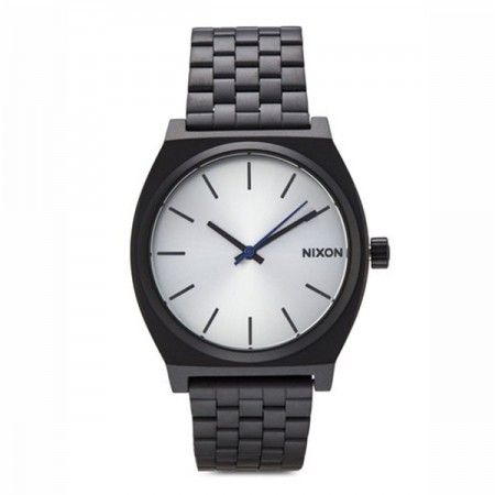A045180 Nixon Time Teller Black/Silver   Visit our store: www.watchworldindonesia.com