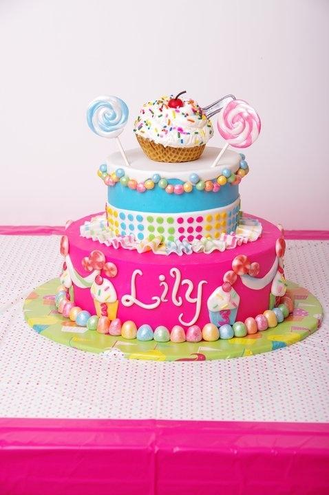 Sweet Shoppe Cake